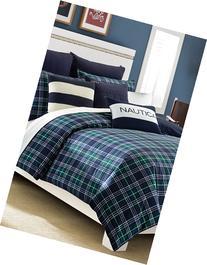 Nautica 'Trescott' Cotton Comforter Set, Size King - Blue