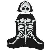 Casual Canine Cotton Glow Bones Dog Costume, X-Large, 24-