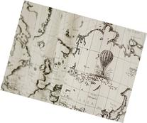 Cotton Linen Fabric Cloth DIY Cloth Art Manual Cloth Map