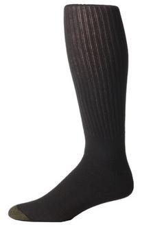 Gold Toe Men's Cotton Over the Calf Athletic Sock 3-Pack,