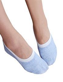 Vero Monte 6 Pairs Womens Cotton Thin No Show Liner