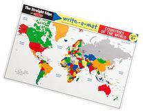 Melissa & Doug Countries of the World Write-A-Mat