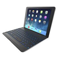 ZAGG Cover with Backlit, hinged, Bluetooth keyboard for iPad