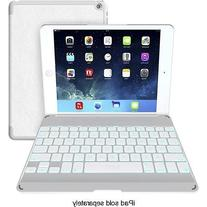 ZAGG Cover with Backlit Bluetooth Keyboard for Apple iPad