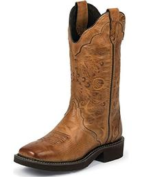 Ladies Cowboy Boot Fashion Removable Orthotic Insert Rubber