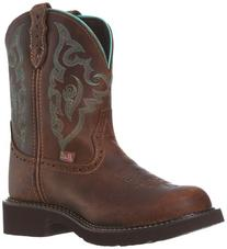Ladies Cowboy Boot Rubber Outsole J-Flex Insole Single