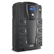 CyberPower CP600LCD Intelligent LCD UPS System, 600VA/340W,
