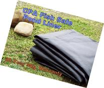 CPA Fish Safe Pond & Water Garden Liner - 15 x 26