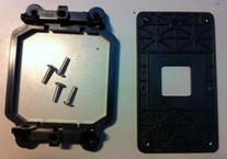 AMD CPU Fan Bracket Base for AM2 AM2+ socket with Back Plate