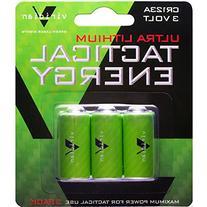 Viridian CR123A 3 Volt Lithium Battery, 3-Pack