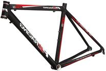 PZ Racing CR2.2FM Bike Frame, 700x50cm, Shiny Black