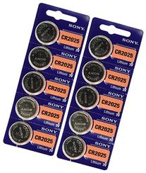 CR2025 Lithium Battery - 10 pack