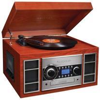 Crosley CR2413A-PA Memory Master II Turntable with Radio, CD