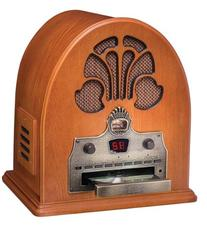 Crosley CR32CD Cathedral Retro AM/FM Radio and CD Player