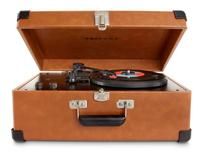 Crosley CR49-TA Traveler Turntable with Stereo Speakers and