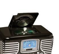 Crosley CR612-BK Corsair Retro AM/FM Dual Alarm Clock Radio