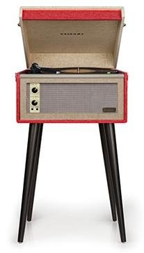 Crosley CR6233A-RE Dansette Bermuda Portable Turntable with