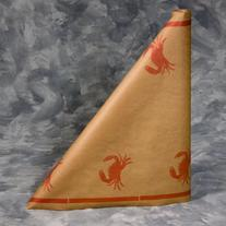 "Crab Paper Table Cover, 300 ft. long x 40"" wide roll"