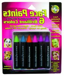 Crafty Dab Face Paint Jumbo Crayons - Brilliant Colors