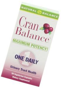 Natural Balance Cranbalance, 30-Count
