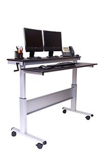 Stand Up Desk Store Crank Adjustable Sit to Stand Up