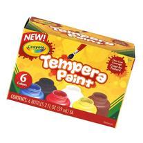 Crayola Tempera Paint Set, 2-Ounce, 6 Count