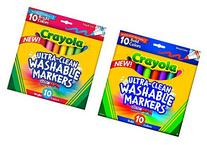 CRAYOLA ULTRA-CLEAN COMBO PACK: SET INCLUDES 1 OF EACH