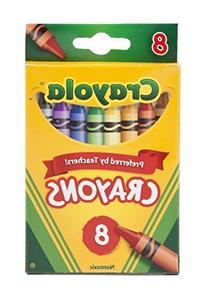 Bulk Buys Crayons 8Ct 4Pk - Case of 12