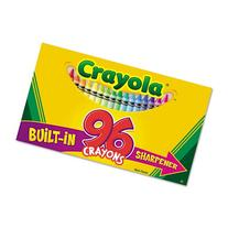 Crayola 52-0096 96 Count Crayon Box With New Specialty