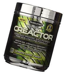 MuscleTech Creactor, Max Potency Creatine HCL Powder, Lemon-