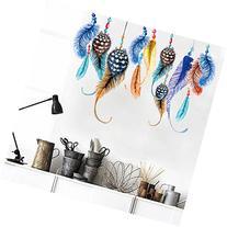 Amaonm® New Desgin Creaitve Colorful Feather Art Wall