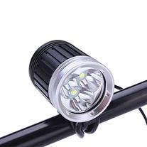SecurityIng 3 x XM-L T6 LED 1800Lm LED Headlamp & Bicycle