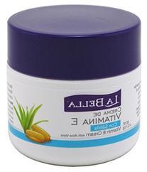 La Bella Crema Vitamin-E With Aloe 4oz Jar