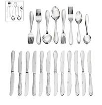 Oneida® Cresta 90-pc. Flatware Set