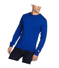 Russell Athletic 68914M Unisex Crew Long-Sleeve Cotton T
