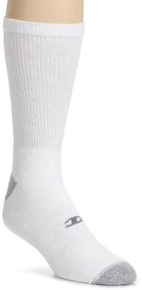 Champion Men's Crew Socks White, 10-13 / Shoe: 6-12