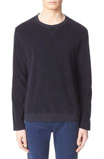 Men's A.p.c. Crewneck Sweatshirt, Size Medium - Blue