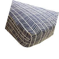 Danha Premium Fitted Cotton Crib Sheet With Herringbone