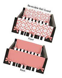 Baby Crib Side Rail Guard Wrap Covers Teething Protector for