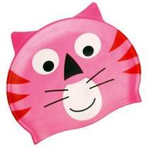 Water Gear Critter Cap, Pink Cat