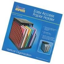 Cropper Hopper Easy Access Paper Holder-Black