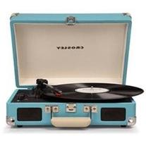 Crosley Cruiser Deluxe Turquoise With Added Bluetooth And