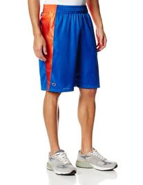 Champion Men`s Textured Dazzle Basketball Shorts, S-Navy