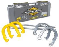 Crown Sporting Goods Professional Steel Horseshoe Game Set