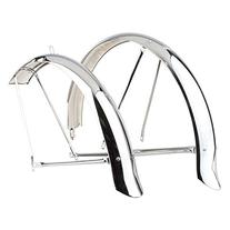 Sunlite Cruiser Fenders, Full, Chrome Plated