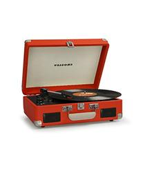 Cruiser II Battery Powered Turntable - Orange