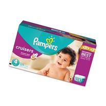 Pampers Cruisers Disposable Diapers Size 4, 124 Count,