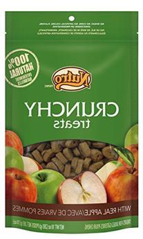 NUTRO Crunchy Treats With Real Apple - 10 oz