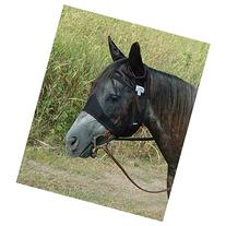 CASHEL CRUSADER QUIET RIDE FLY MASK - STANDARD WITH EARS -