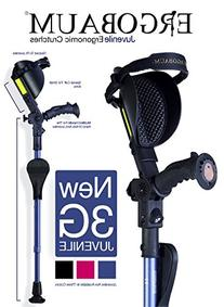 New Ergobaum 3G Junior Shock Absorber Crutches